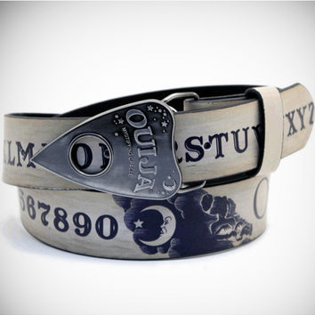 Ouija Board Printed Belt