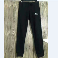 NIKE hot black leisure long sports pants