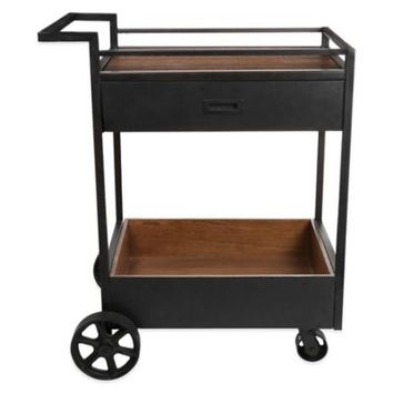 Kenneth Cole Reaction Home Metal Bar Cart