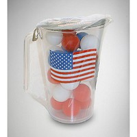 Flag Pitcher & Beer Pong Ball Set - Spencer's