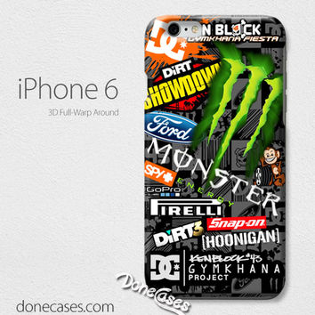Ken Block Monster GYMKHANA iPhone 4/4 Case, iPhone 5/5s/5c, iPhone 6 / iphone 6 plus case