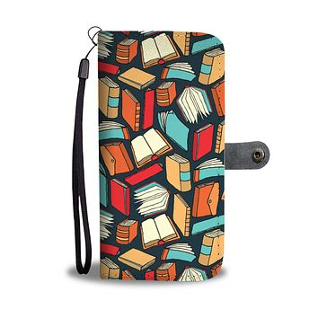 Book Lovers Wallet Phone Case
