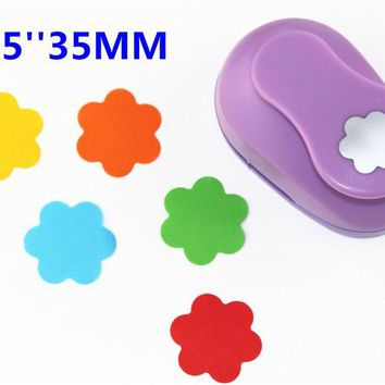 38mm Embossing device Flowers paper cutter crafts scrapbook kid child craft tool diy  hole punches cortador de papel  S2934-6
