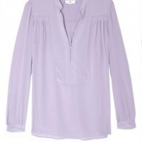 Purple Day Shirts Silk Blouse by Day Birger Et Mikkelsen