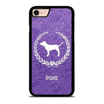 PINK DOG VICTORIA'S SECRET iPhone 8 Case Cover