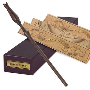 Universal Studios Interactive Luna Lovegood Wand From Harry Potter New with Box