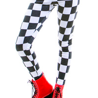 Checkmate Two-Tone Leggings
