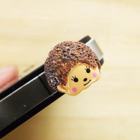 Hedgehog Headphone Plug iPhone