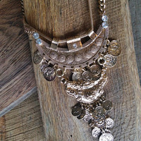 Crest Coin Necklace
