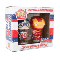 Funko Marvel Captain America & Iron Man Pop! Salt & Pepper Shakers