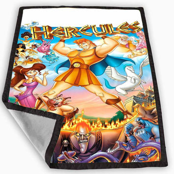 Disney Hercules Blanket for Kids Blanket, Fleece Blanket Cute and Awesome Blanket for your bedding, Blanket fleece *