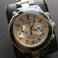 MEN'S CHANEL J12 SUPERLEGGERA AUTOMATIC CERAMIC/ALUMINIUM WATCH.