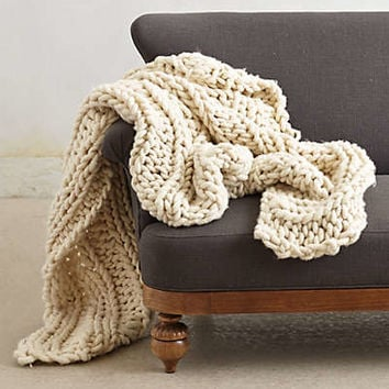 Handmade Merino Throw