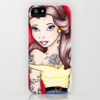 Belle iPhone Case by Krista Rae | Society6