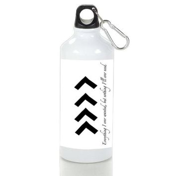 Gift Sport Bottles | Liam One Direction Arm Tattoos Quotes Aluminum Sport Bottles
