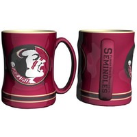 Florida State Seminoles NCAA Coffee Mug - 15oz Sculpted (Single Mug)