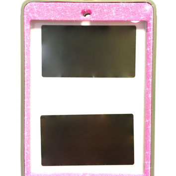 iPad mini 2 OtterBox Defender Series Case Glitter Cute Sparkly Bling Defender Series Custom Case pink/grey