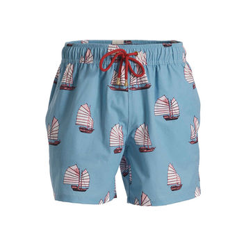 Mazu Swimwear Junk Low Tide Light Blue