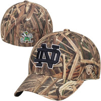 Notre Dame Fighting Irish Top of the World Blades Memory Fit Flex Hat – Camo