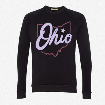 Ohio State of Mind fleece crewneck sweatshirt