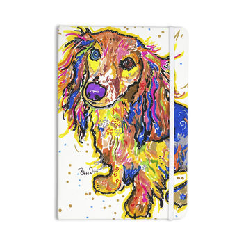 "Rebecca Fischer ""Leela"" Daschund Everything Notebook"