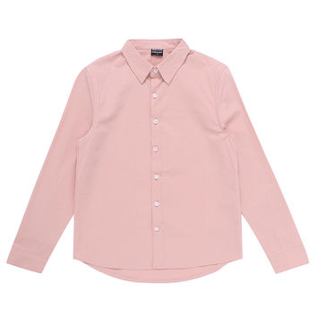 Essential Casual Bottom-Down Shirt