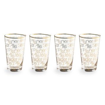 Rosanna Set of 4 Pint Glasses | Nordstrom