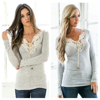 Jonah Lace Top