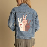 Fundamental Statement Denim Jacket | Threadsence