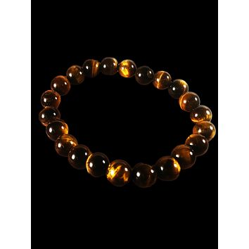 Crystal Bracelet: Tigers Eye