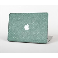 "The Small Green Polkadotted Surface Skin Set for the Apple MacBook Pro 13"" with Retina Display"