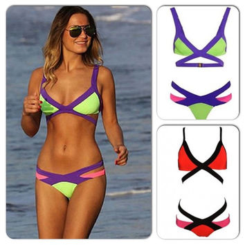 New Arrival Hot Sexy Beach Summer Swimsuit Hot Sale Women's Fashion Swimwear Bikini [6533219271]