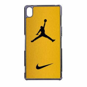 VONR3I Nike Air Jordan Golden Gold Sony Xperia Z3 Case