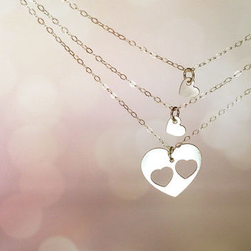 mother two daughter jewelry
