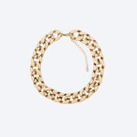 Shiny chain link necklace