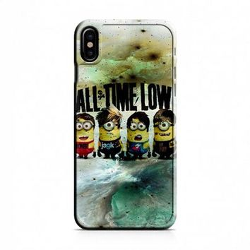 All Time Low Minion Drawing iPhone X Case
