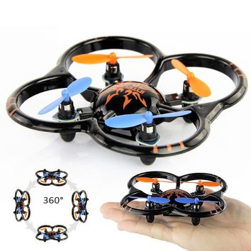 Hot sell Professional Mini RC Drone UFO FX06 2.4G 6 Axis anti fall Mini helicopter Nano Intruder Quadcopter kids RC model toy