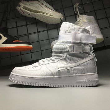 Nike Air Force 1 Special Field Triple White SF AF1 High 903270-100 Sport Shoes - Best Online Sale
