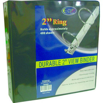 "Binder - 2"" - 3 Rings - Assorted Vinyl"