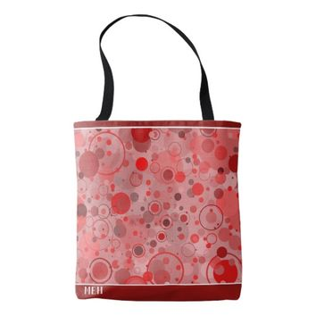 Spot On Red Minor Monogram Tote Bag
