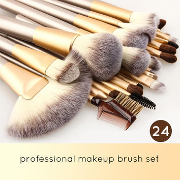 Stylish Professional Makeup Brushes Set Cosmetic Tools