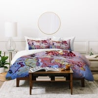 Brian Wall Fine Art Pink Explosion Duvet Cover