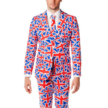 Union Jack MeHoff British Flag Dress Suit