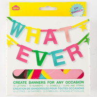 Npw Whatever Banner Kit Multi One Size For Women 25921195701
