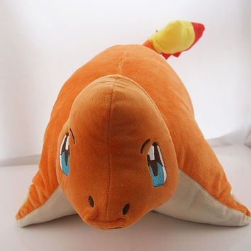 Charmander Pokemon Plush Pillow Stuffed Doll Anime Plushie Soft Toy Cushion Large