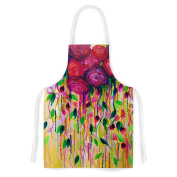 "Ebi Emporium ""Roses are Red"" Artistic Apron"