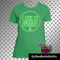 I am a Strong Shirts for Adrenal Cancer, Bile Duct Cancer, Cerebral Palsy, Gastroparesis, Mitochondrial Disease, Neurofibromatosis and More