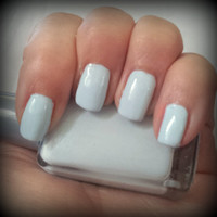 25% off CIJ Faded Blue Jeans Pale Pastel ARIA Indie Nail Polish Handmade Lacquer Custom Christmas in July