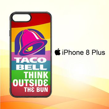 taco bell logo Z3337 iPhone 8 Plus Case