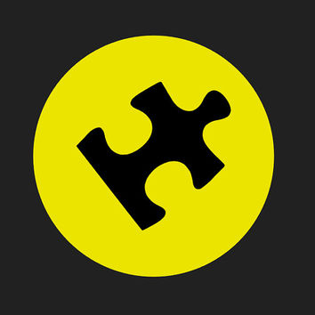 Autism Awareness vinyl car decal, yellow, blue, red, green, puzzle piece